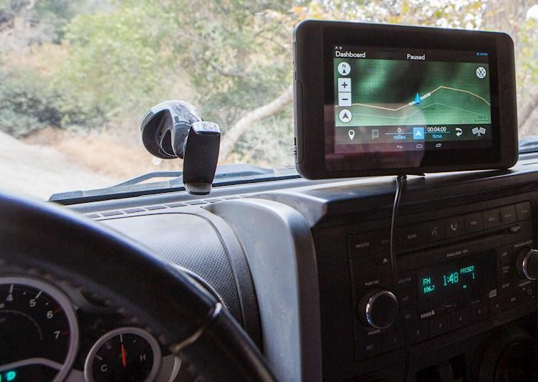 Trail Testing the Magellan eXplorist TRX7 Off-Road GPS