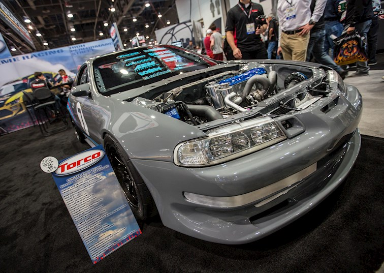 two wide sema honda feature