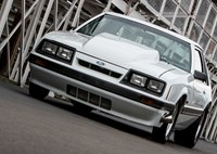 two wide nmra fox body mustang 12