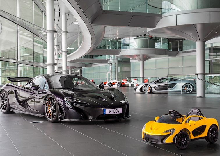 McLaren's New Electric P1 Is Basically a Child's Plaything