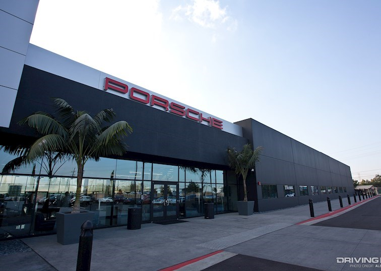 Porsche Gives Los Angeles an Early Christmas Gift
