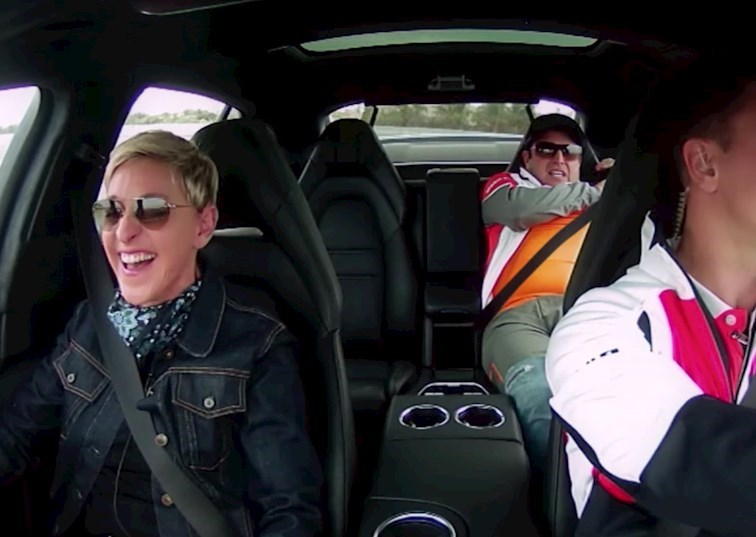 Ellen and Porsche: Match Made in Heaven