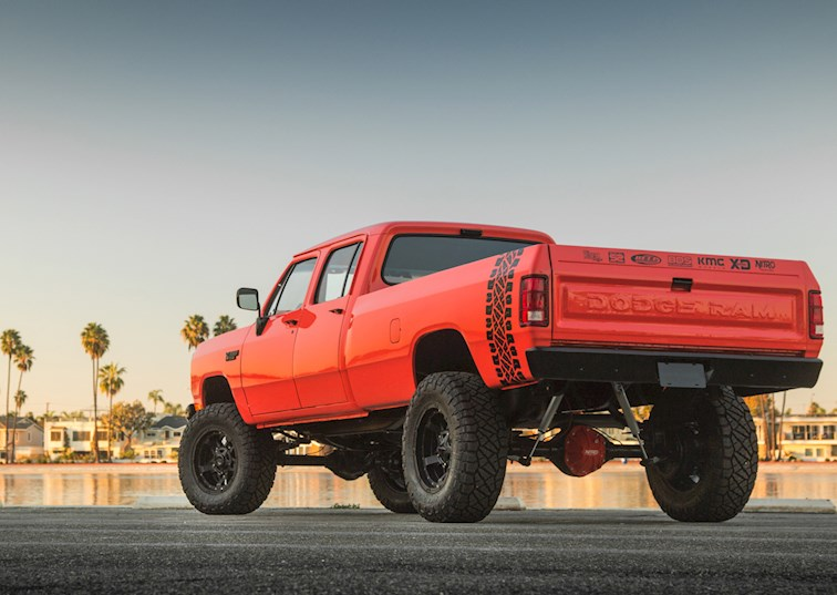 Breakfast with the Lobster Wagon: Dodge Ram 6BT Crew Cab