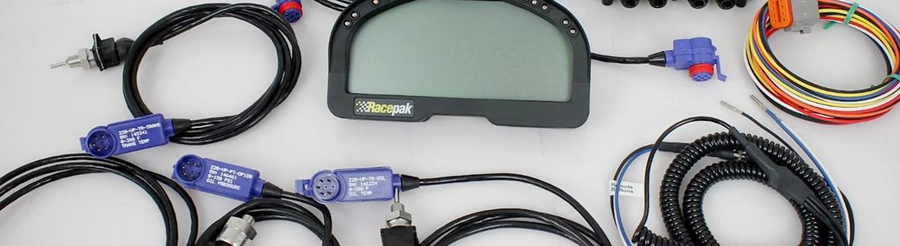 Racepak IQ3 Digital Dash and Data Logger Installation ... on