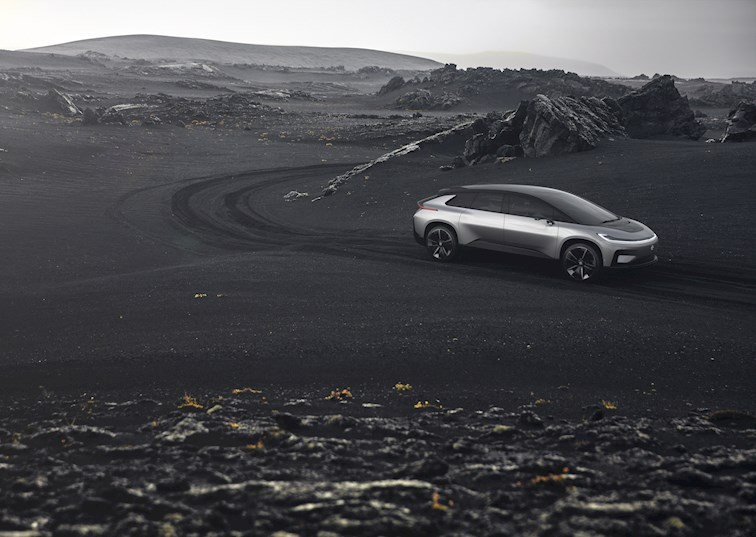 two wide faraday future ff 91 feature