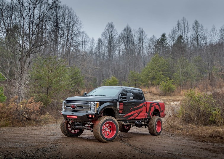 First to Market: Fab Fours 2017 Ford F-250
