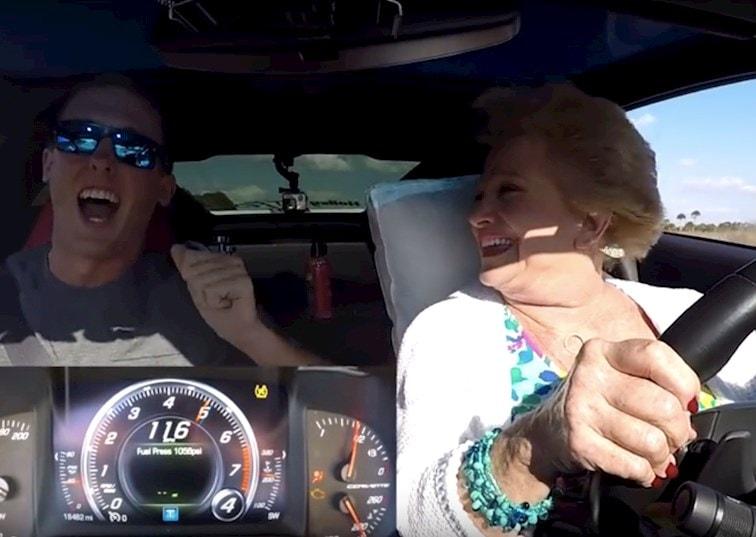 Let Granny Drive the 'Vette