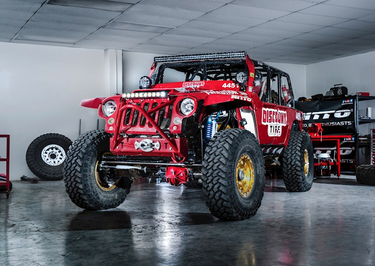 EVO1 Takes on the Baja 1000 [Video]