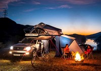 two wide ikamper rooftop tent feature
