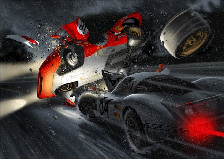 McQueen Comic Has Us Dreaming of Speed