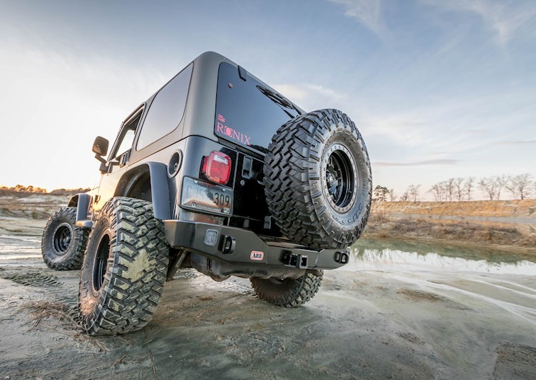 Get Carried Away With ARB: TJ Rear Bumper & Tire Carrier Review