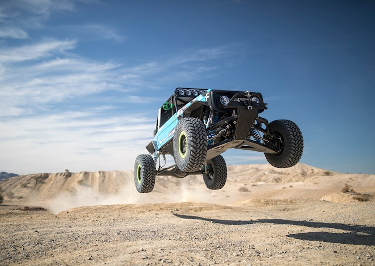 Vaughn Gittin Jr. and Brocky the Bronco Take on KOH 2017