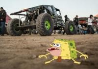 two wide driving line koh meme caveman spongebob