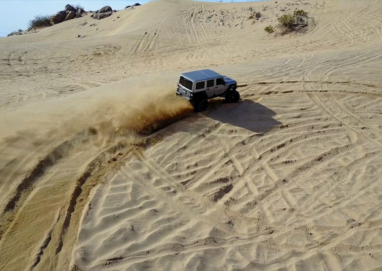 two wide hammers trails nitto tire video feature