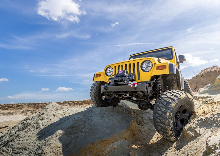 Wrangler Ware: Because Everyone Gets Stuck Off-Road Sooner or Later