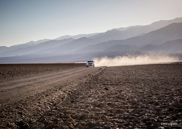 Deception in the Desert: Death Valley West Side