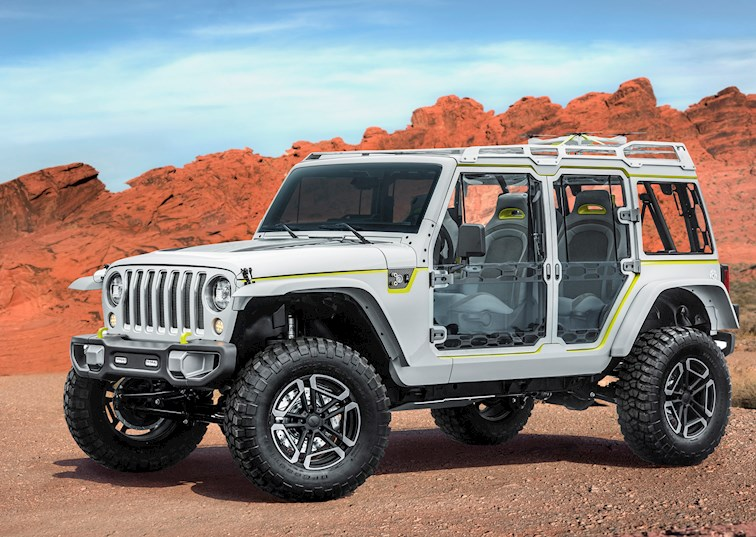 Unveiled: 2017 Jeep Concept Vehicles