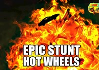 two wide drivingline hotwheels epic stunt movie cars feature