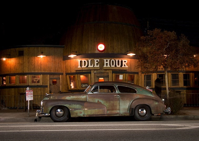 Dreaming of Derelicts: A Night Out with ICON's 1946 Oldsmobile