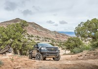 two wide 2017 chevy colorado zr2 first review