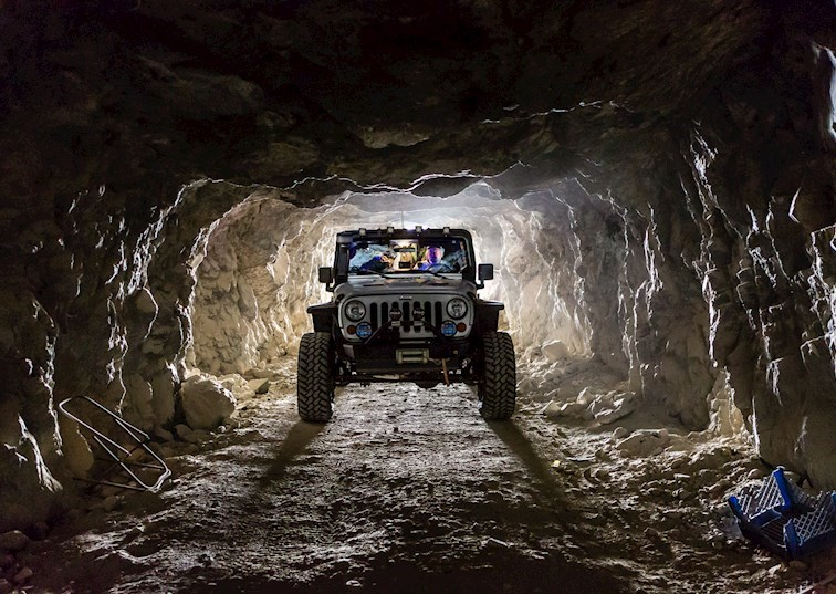 Journey to the Center of the Earth at Reward Mine