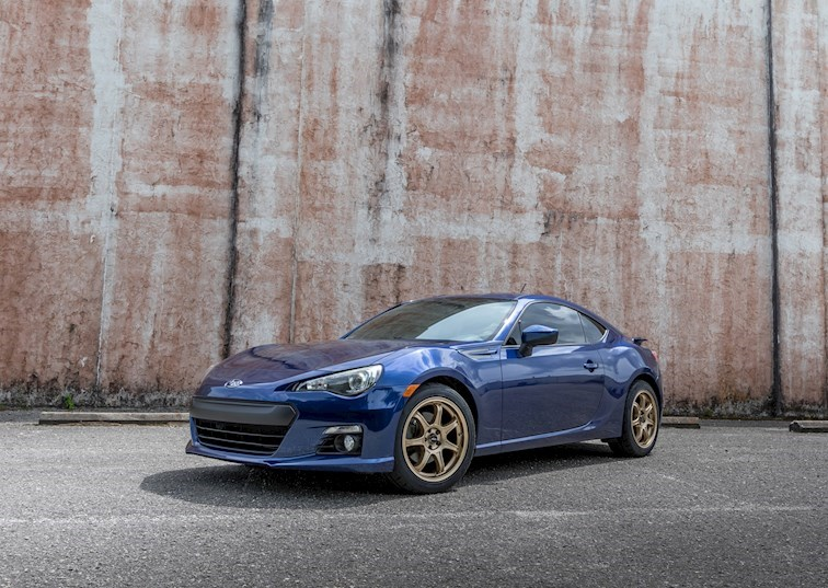 Kicking Asphalt: Strapping NT05 Tires Under a Subaru BRZ