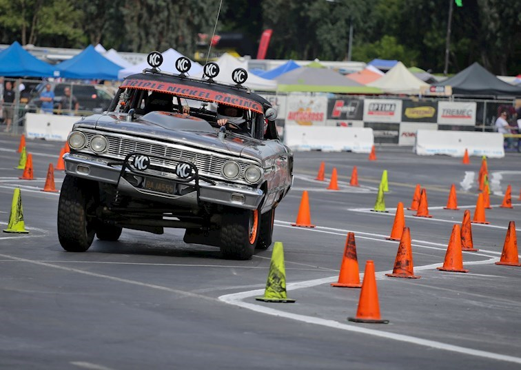 Five Unusual Autocrossers from the West Coast Muscle Car Shootout