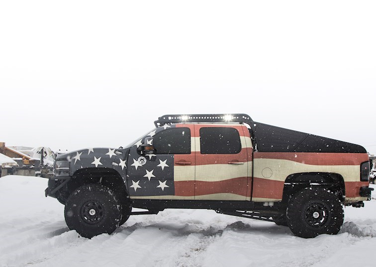 Truck Norris: Possibly the Most 'Merica Thing on 4 Wheels