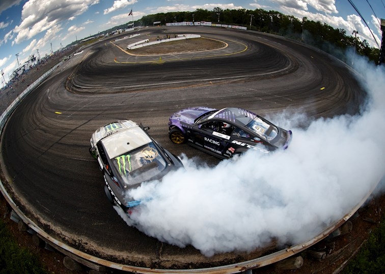 Double Trouble: #BroStangs Team Up to Conquer Formula Drift