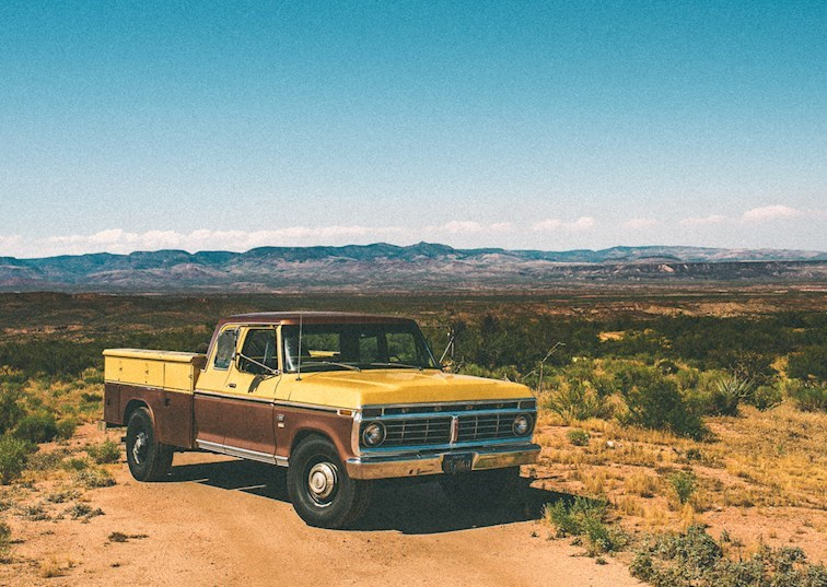 Build Plans for Aaron Kaufman's 1975 Ford F-350