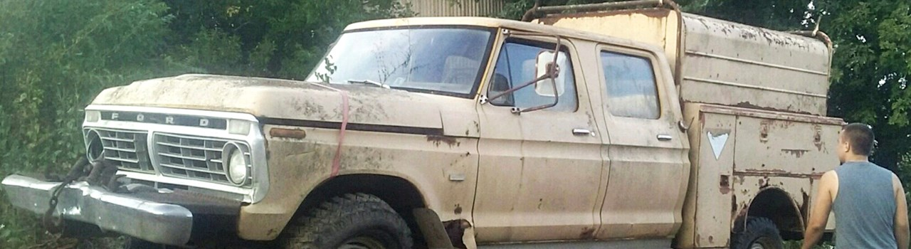 The Ultimate Homebuilt 1973 Ford F 250 High Boy Part 1 Piece By