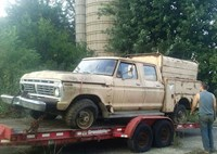two wide 001 1973 ford f250 high boy barn find feature