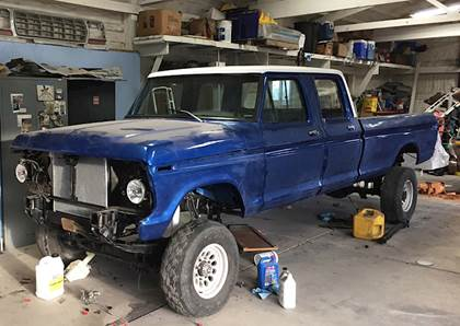 The Ultimate Homebuilt 1973 Ford F-250 High-Boy, Part 1