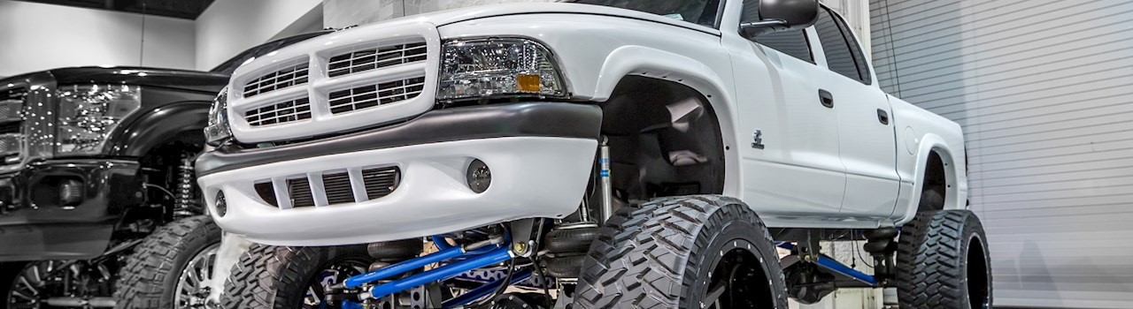 Hero D Truck Meet on Dodge Dakota 4bt