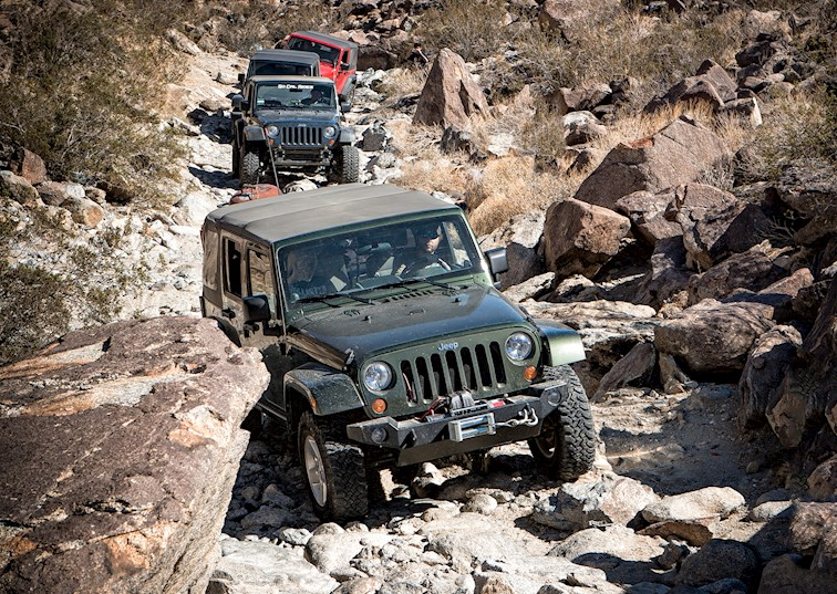 Coyote Canyon: My First California Jeep Run