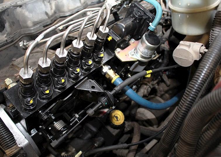 two wide 008 cummins 24 valve bosch p7100 injection pump conversion feature