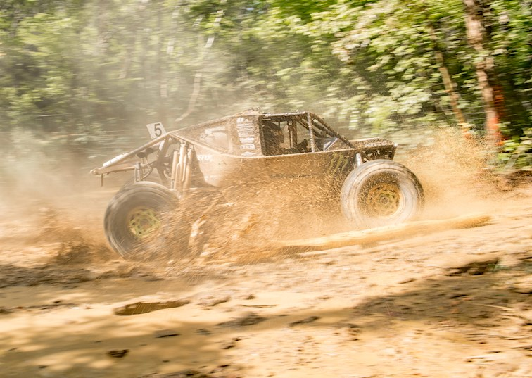 Trees Take a Toll at the Ultra4 2017 KMC Wheels Battle in Bluegrass