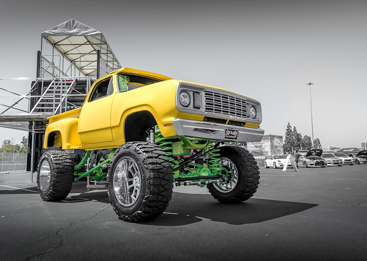 two wide 1978 dodge w 150