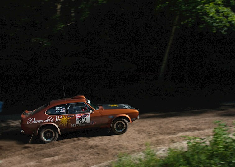This 1974 Ford Capri Brings the Muscle to Rally Racing