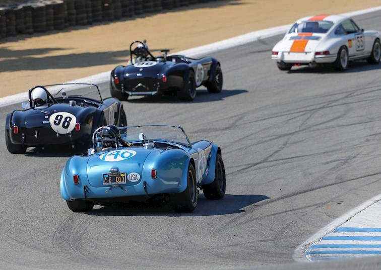 The 2017 Rolex Reunion Celebrates 60 Years of Racing at Laguna Seca