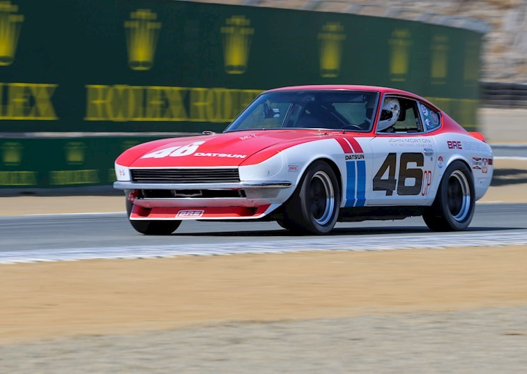 Datsun Legend Reborn: The BRE 240Z at Laguna Seca