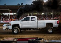 two wide 011 2017 chevy silverado limited pro stock cummins puller