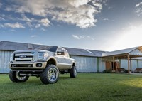 two wide bds coilover ford super duty nitto trail grapplers