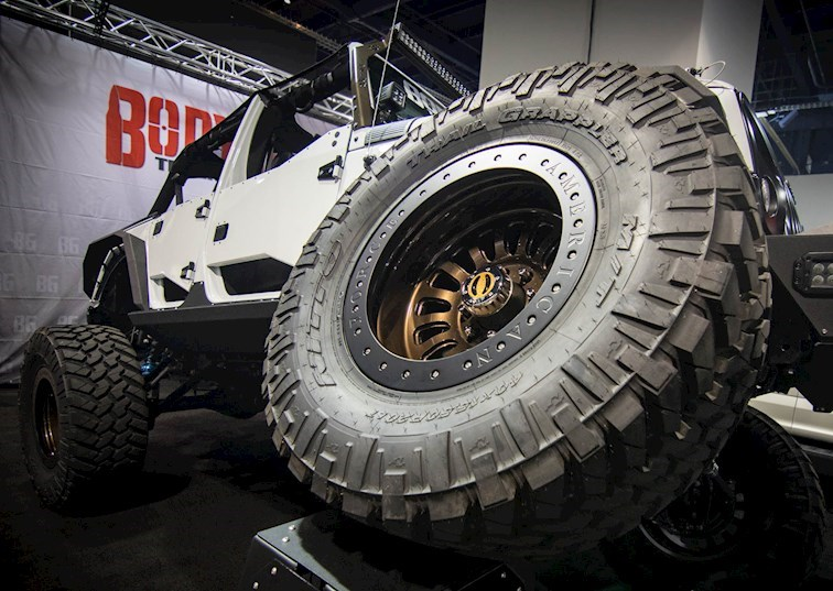 2017 SEMA Off-Road & Trucks in South Hall [Gallery]