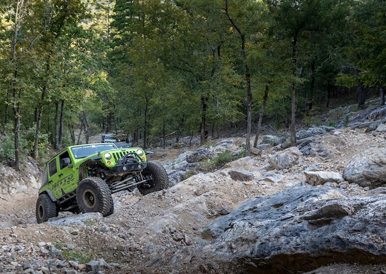 Boulders to the Bayou: The 2017 Nitto Tire JK Experience Big River