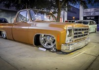 two wide chevy c 10 lowrider 1
