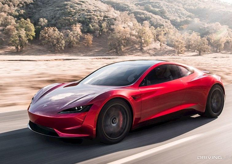 Electric Bombshell: The Tesla Roadster Returns