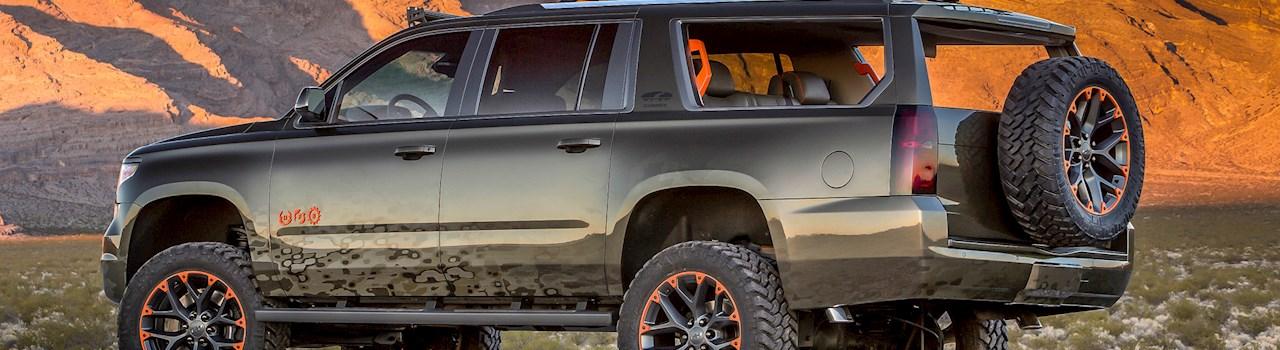 Luke Bryan's 2018 Chevy Suburban Concept   DrivingLine
