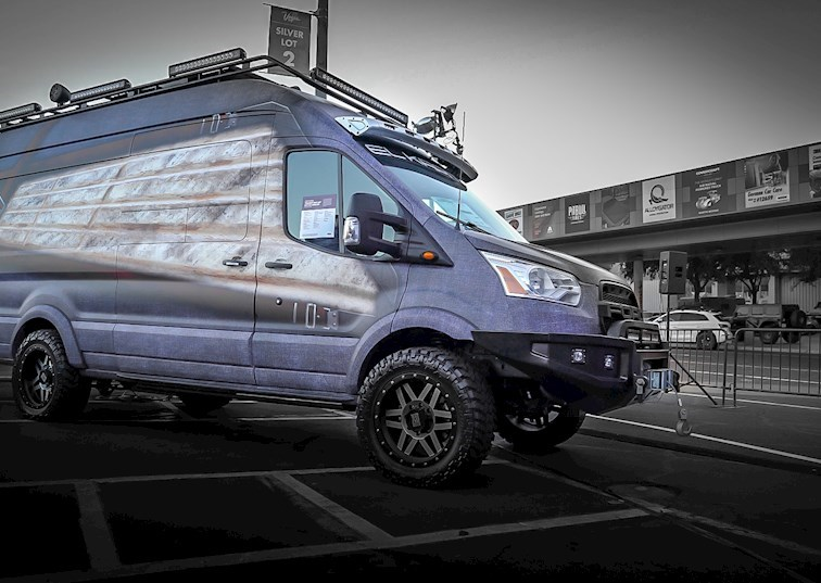 EL KAPITAN! Ford Transit MX Conversion Van