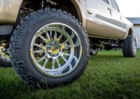 two wide 013 2011 ford f250 24 moto metal wheels 40 trail grapplers 8 inch bds lift